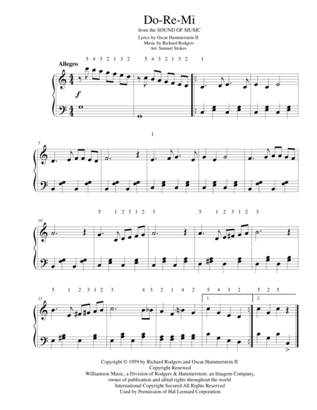 Do Re Mi For Early Intermediate Piano