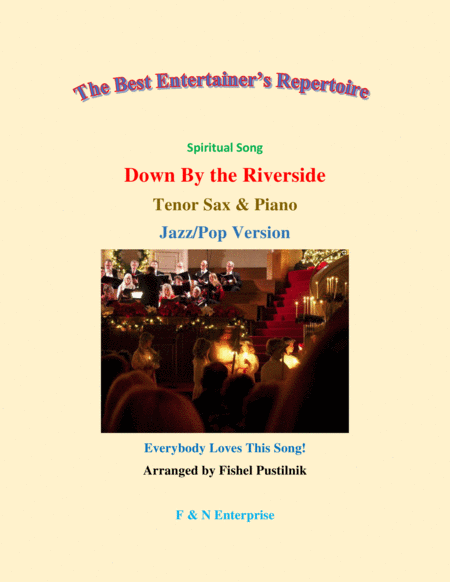 Down By The Riverside Piano Background For Tenor Sax And Piano Jazz Pop Version Video