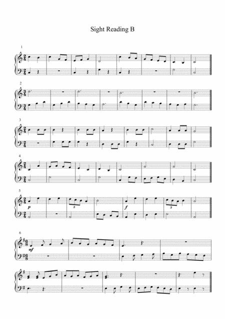 Download Piano Sight Reading B