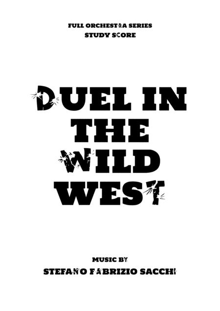 Duel In The Wild West Study Score