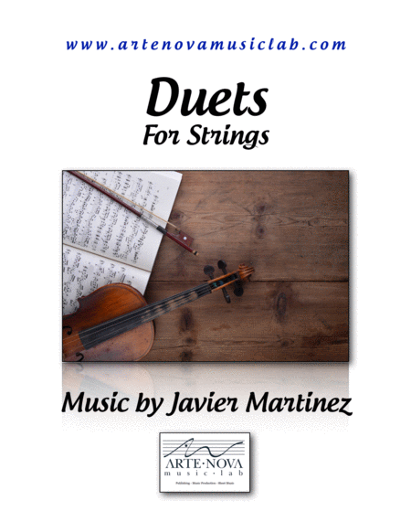 Duets For Strings Violin Viola And Cello