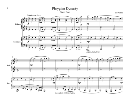 Duets On The Mode 3 Phrygian Dynasty