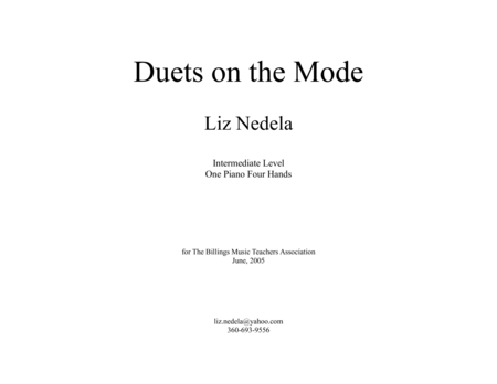 Duets On The Mode Collection