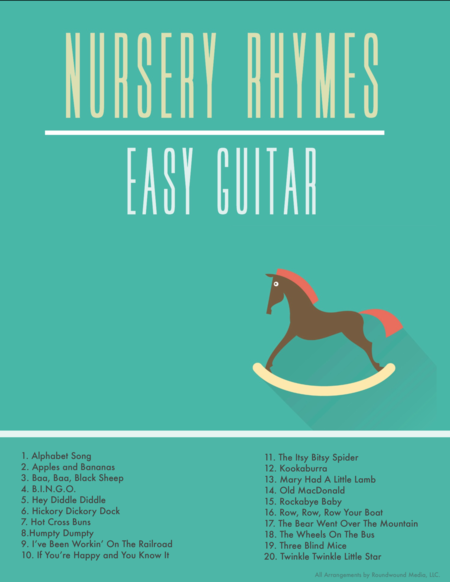 Easy Guitar Nursery Rhymes And Childrens Songs W Chords And Tab