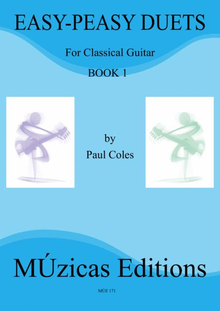 Easy Peasy Guitar Duets Book 1