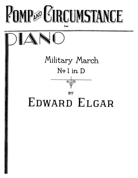 Edward Elgar Pomp And Circumstance March No I Full Original Complete Version