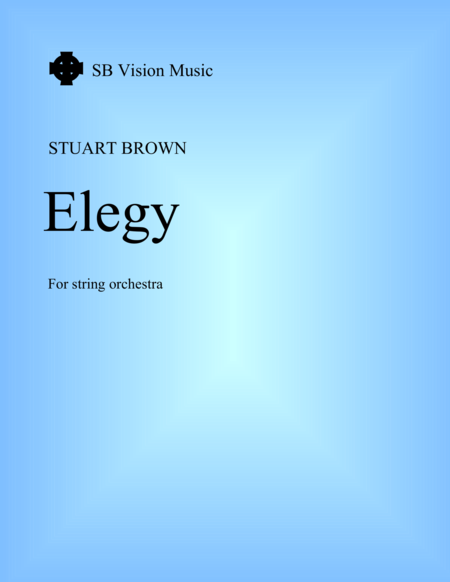 Elegy For String Orchestra Orchestra Pack 1 Violins And Violas