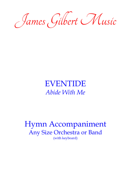 Eventide Abide With Me