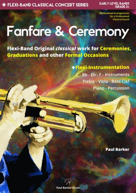 Fanfare Ceremony Flexi Band Score Parts