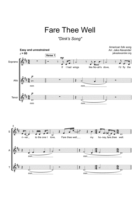 Fare Thee Well Sat