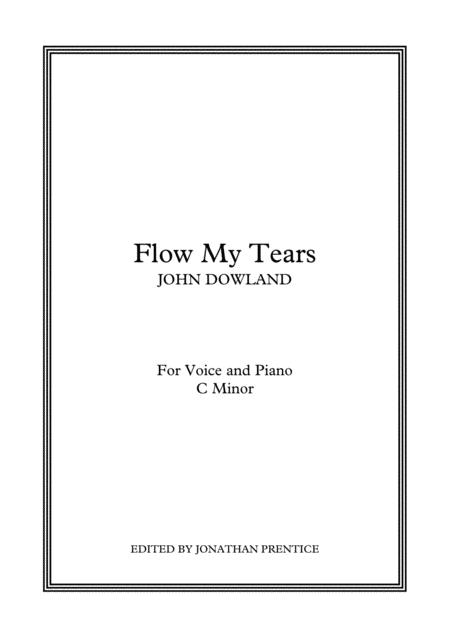 Flow My Tears C Minor