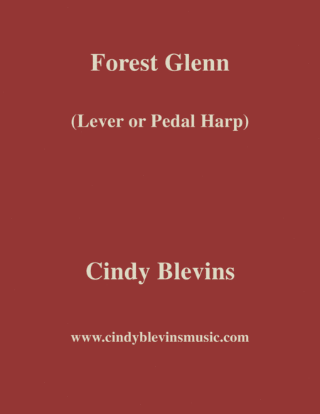 Forest Glenn An Original Solo For Lever Or Pedal Harp From My Harp Book Hourglass