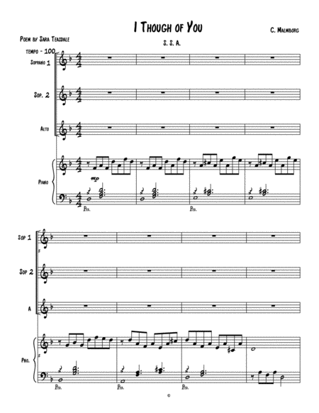 Fugue 15 From Well Tempered Clavier Book 1 Flute Quartet