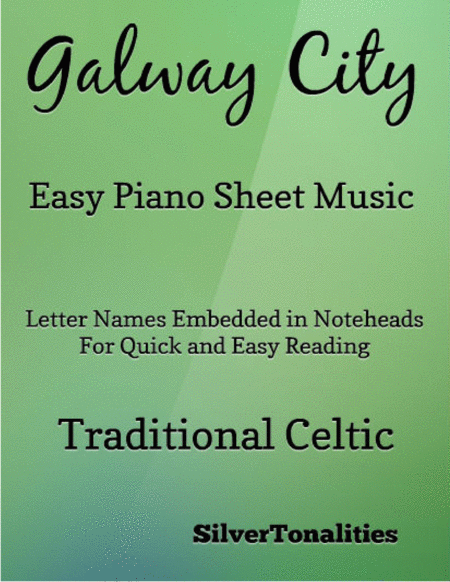 Galway City Easy Piano Sheet Music