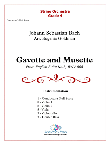 Gavotte And Musette Form Js Bachs English Suite No 3 In G Minor