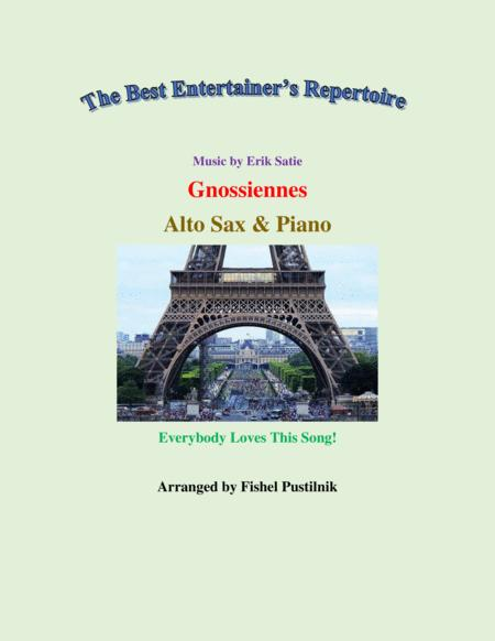 Gnossiennes For Alto Sax And Piano Jazz Pop Version Video