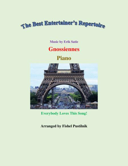 Gnossiennes For Piano Jazz Pop Version Video
