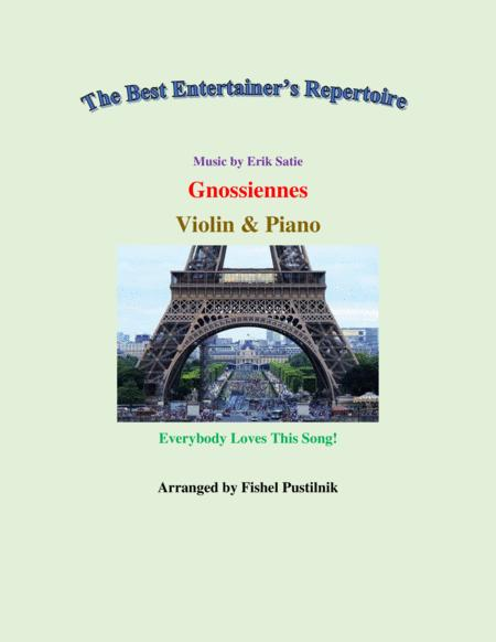 Gnossiennes For Violin And Piano Jazz Pop Version Video