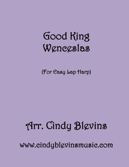 Good King Wenceslas Arranged For Easy Lap Harp