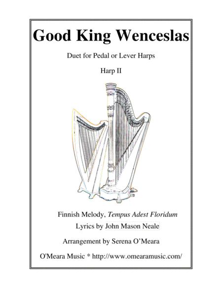 Good King Wenceslas Harp Ii