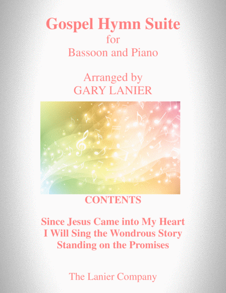 Gospel Hymn Suite For Bassoon Piano With Score Bassoon Part