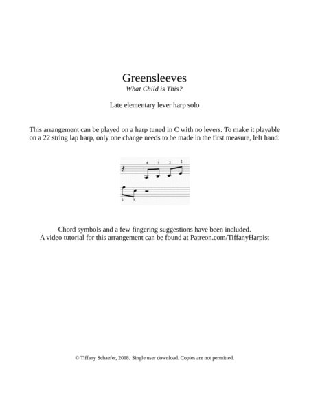 Greensleeves What Child Is This