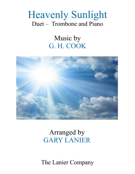 Heavenly Sunlight Duet Trombone Piano With Score Part