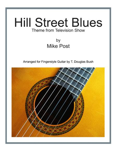 Hill Street Blues Theme Arranged For Fingerstyle Guitar