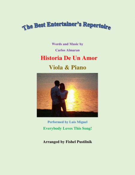 Historia De Un Amor For Viola And Piano Jazz Pop Version Video