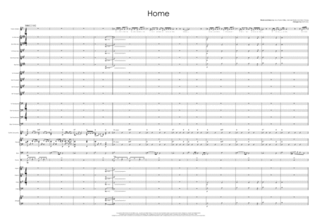 Home Vocal With Big Band And Strings
