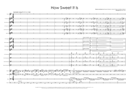 How Sweet It Is To Be Loved By You Big Band And Vocal