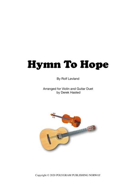 Hymn To Hope Violin And Guitar Duet