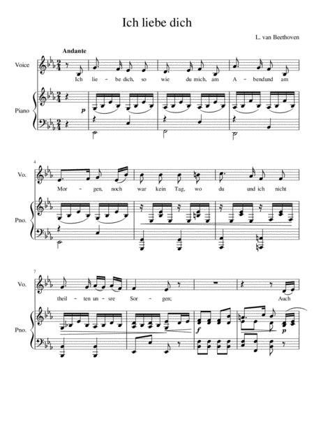 Music dich liebe download ich Franz Lehár