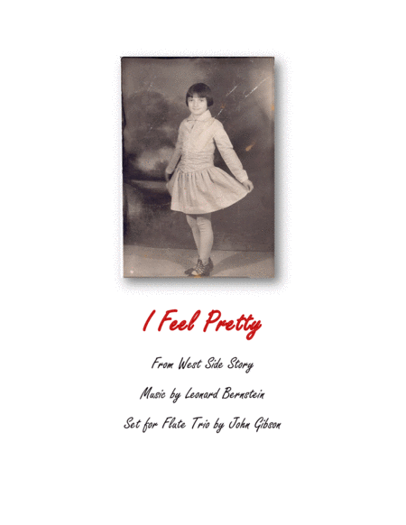 I Feel Pretty From West Side Story Flute Trio
