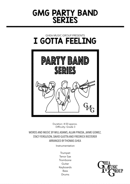 I Gotta Feeling Party Band