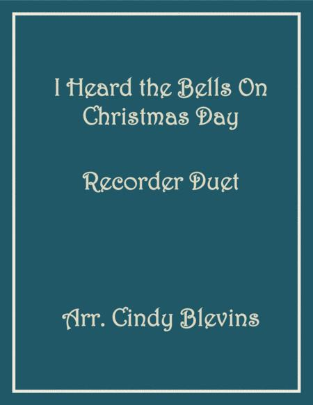I Heard The Bells On Christmas Day Recorder Duet