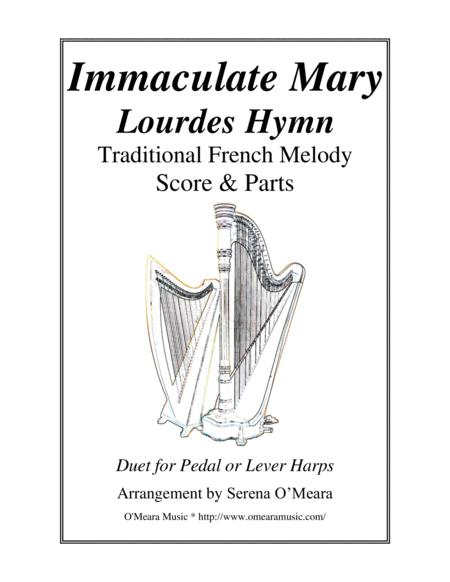 Immaculate Mary Lourdes Hymn Score Parts