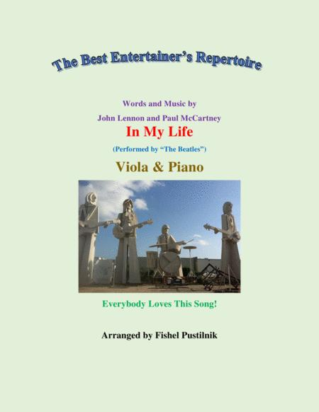 In My Life For Viola And Piano Jazz Pop Version Video