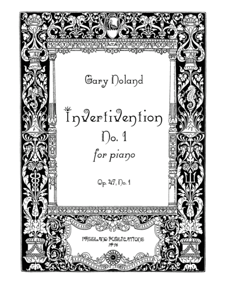 Invertivention No 1 For Piano Op 47 No 1