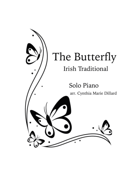 Irish Traditional The Butterfly For Piano