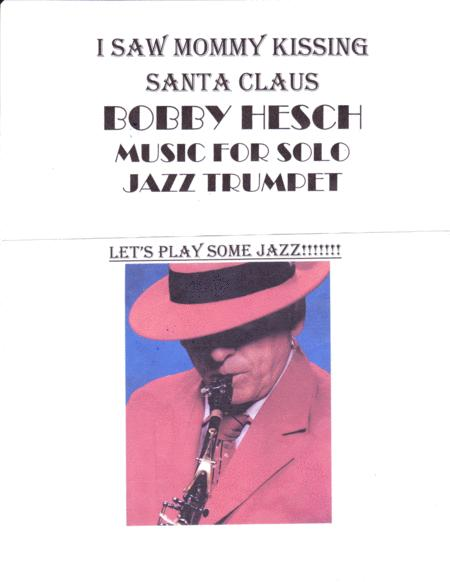 I Saw Mommy Kissing Santa Claus For Solo Jazz Trumpet