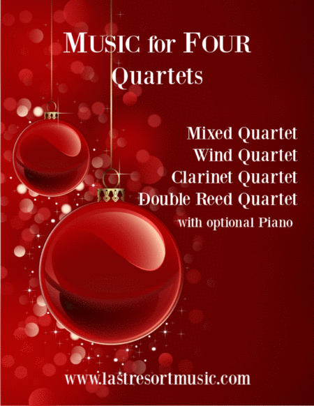 It Came Upon A Midnight Clear For Wind Quartet Or Mixed Quartet Or Double Reed Quartet Or Clarinet Quartet