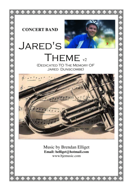 Jareds Theme Concert Band Score And Parts With Optional Strings Score And Parts Pdf