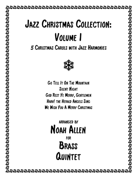 Jazz Christmas Collection Volume I Brass Quintet