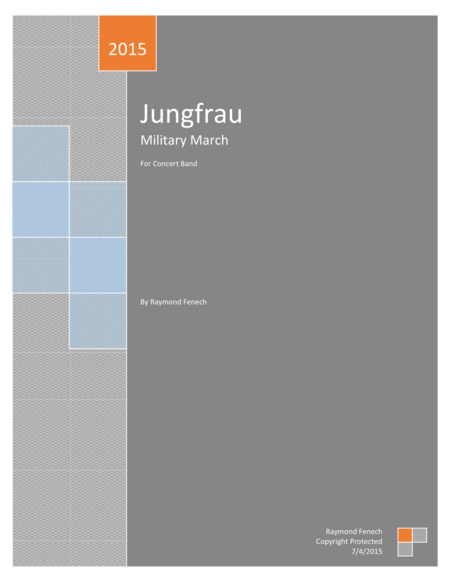 Jungfrau Military March For Pep Band Concert Band Marching Band