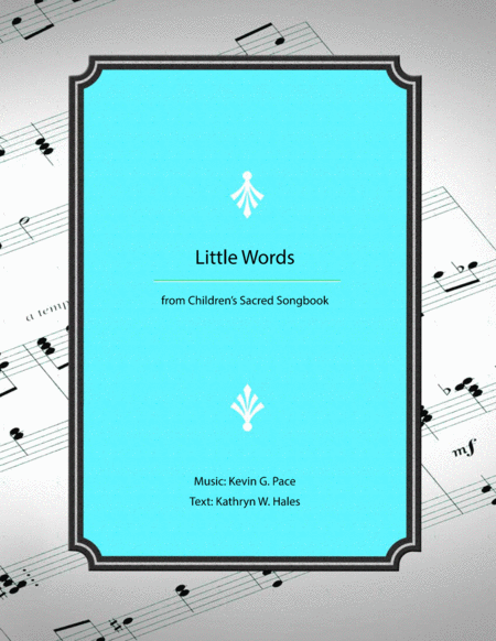 Little Words A Childrens Song