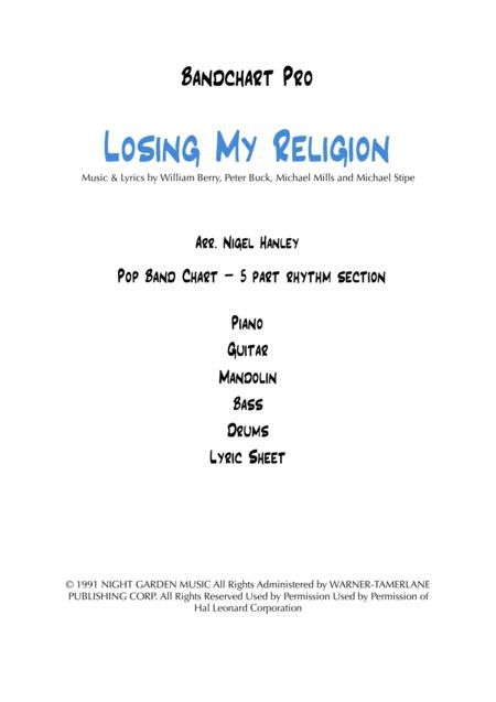 Losing My Religion Ami 5pc Pop Band Chart