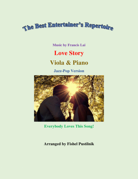 Love Story For Viola And Piano Jazz Pop Version Video
