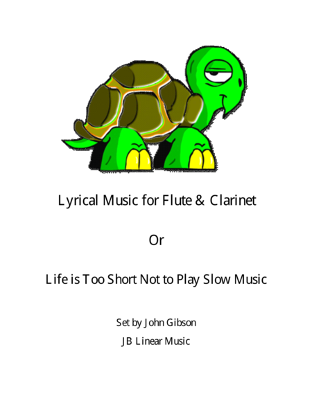 Lyrical Music For Flute And Clarinet Duet