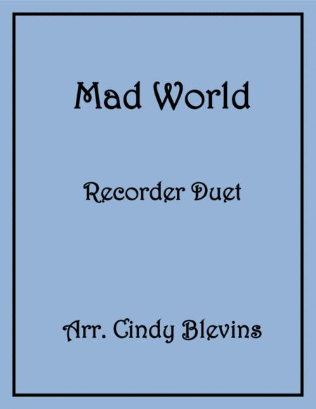 Mad World Recorder Duet
